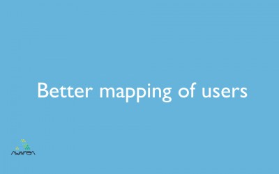 Better mapping of users