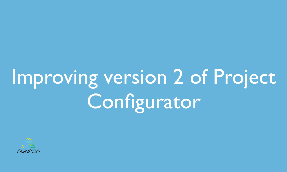 Improving version 2 of Project Configurator