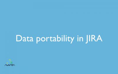 Data portability in JIRA