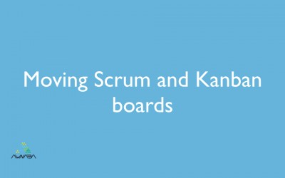 Moving Scrum and Kanban boards