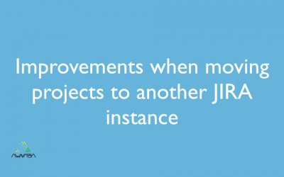 Improvements when moving projects to another JIRA instance