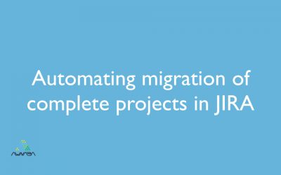 Automating migration of complete projects in JIRA